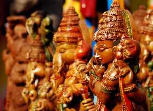 idol of hindu god