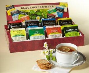 tea and coffee sampler