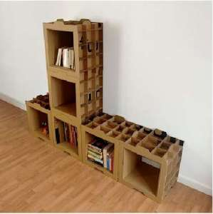 carboard shelve