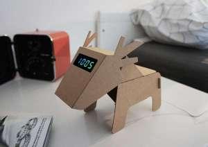 cardboard electronic creature