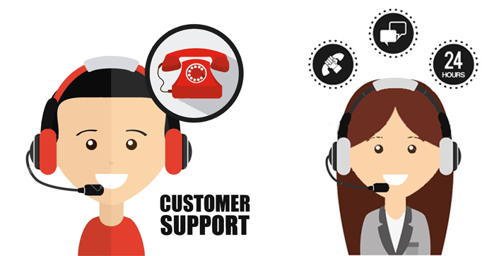 customer support people